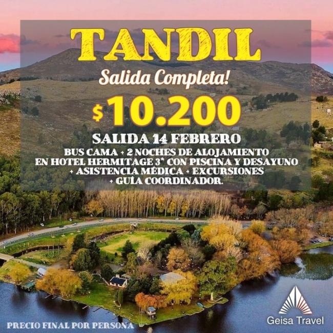 ESCAPADA TANDIL